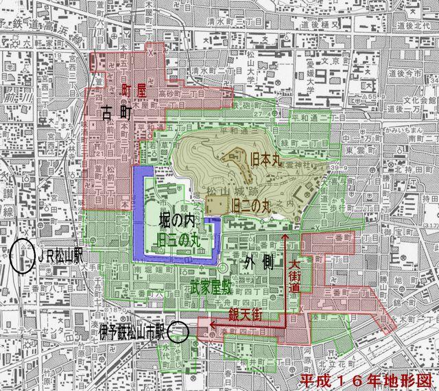 「松山市 古地図」の画像検索結果